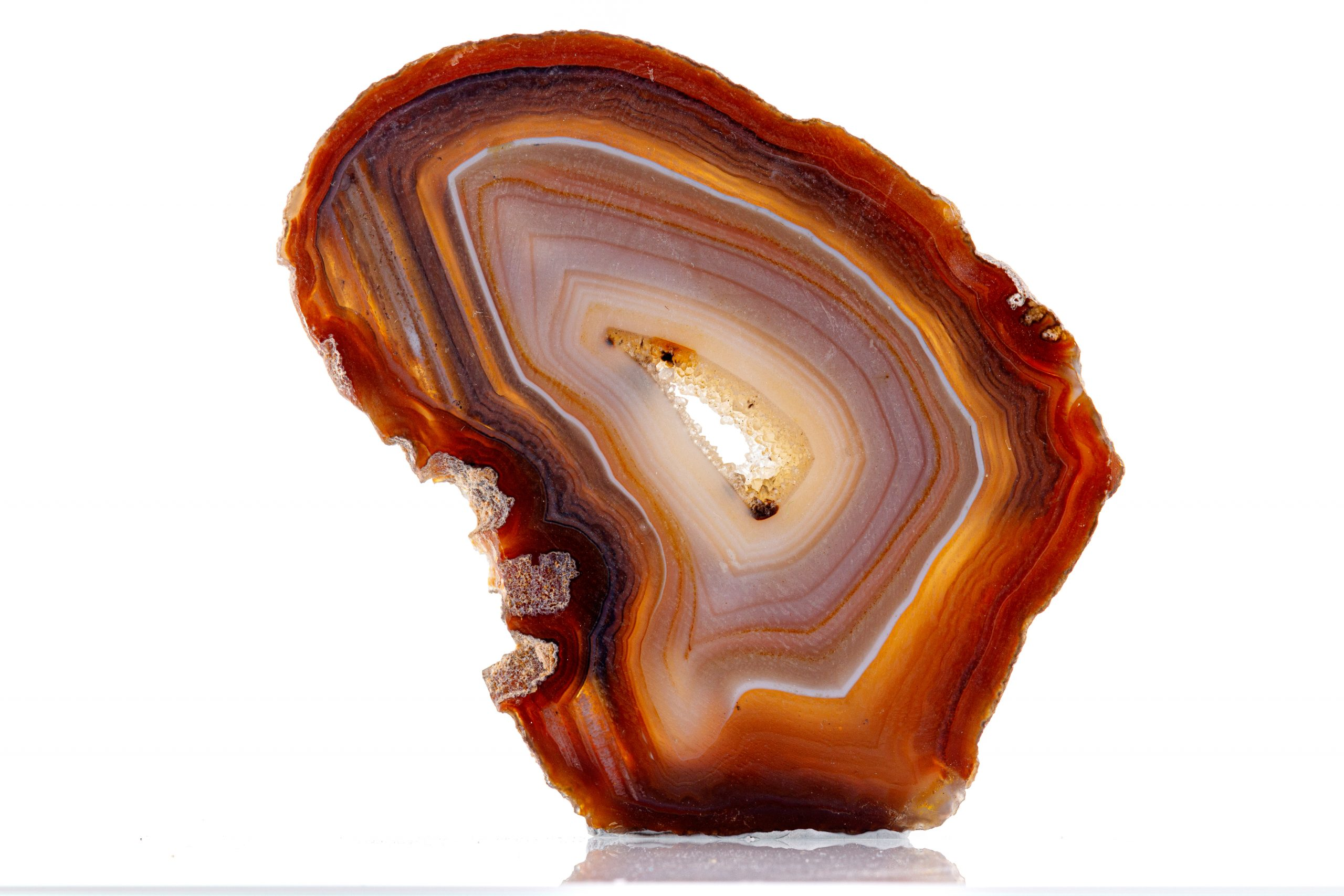 Agate banded wonders of nature